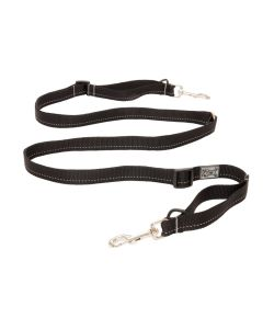 "RC Pets Primary Active Leash Black (1""x6')"