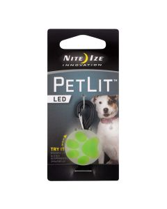 Nite Ize PetLit LED Lime Paw