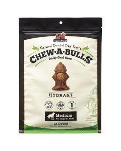 Redbarn Chew-A-Bulls Hydrant [Medium - 12 Pack]