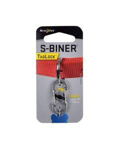 Nite Ize S-Biner TagLock Stainless Steel