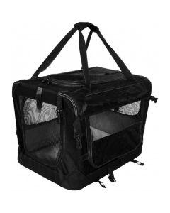 Tuff Deluxe Soft Crate Black Small
