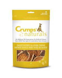 Crumps' Naturals Sweet Potato & Liver Chews