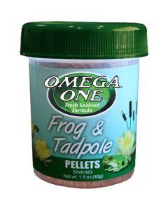 Omega One Frog & Tadpole Pellets (34g)