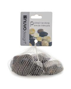Nuvo Design Polished River Stones Black [Small]