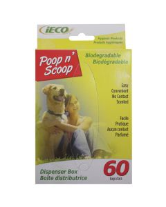 iEco Biodegradable Bags (60 Pack)