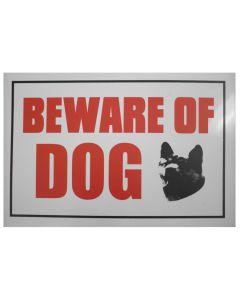 "Beware of Dog Sign (10x14"")"