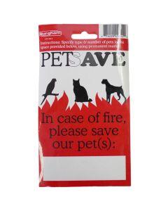 Pet Save Sticker