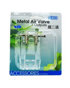 Ista Metal Air Valve 2 Output