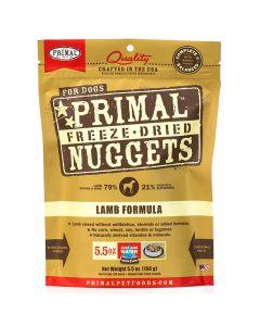 Primal Nuggets Freeze Dried Lamb Dog Food