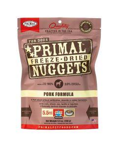 Primal Nuggets Freeze Dried Pork Dog Food