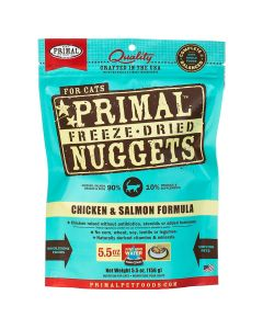 Primal Nuggets Freeze Dried Chicken & Salmon Cat Food