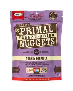 Primal Nuggets Freeze Dried Turkey Cat Food