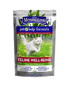 The Missing Link Pet Kelp Feline Well-Being Supplement for Cats [170g]
