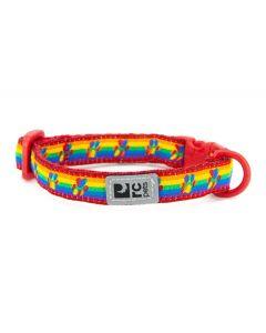 RC Pets Kitty Breakaway Collar Rainbow Paws