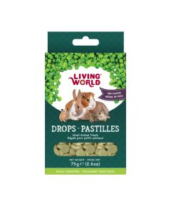 Living World Drops Pea Flavour [75g]