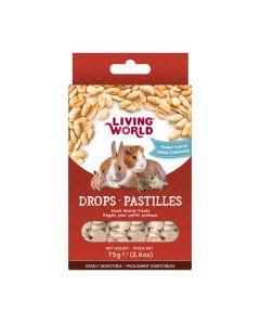 Living World Drops Peanut Flavour [75g]