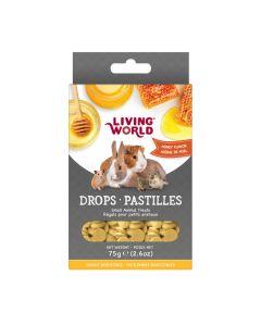 Living World Drops Honey Flavour [75g]