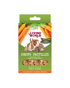 Living World Drops Carrot Flavour [75g]