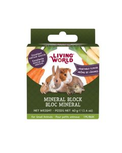 Living World Mineral Block Vegetable Flavour