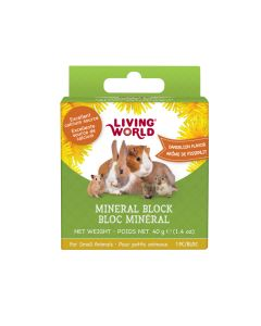 Living World Mineral Block Dandelion Flavour [40g]