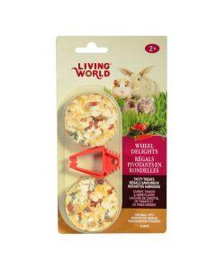 Living World Wheel Delights Vegetable & Herb (68g)