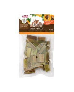 Living World Chews Papaya Stalk Cubes [20g]