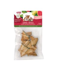 Living World Chews Dried Guava Chips [25g]