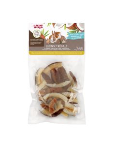 Living World Chews Dried Coconut Chips [45g]