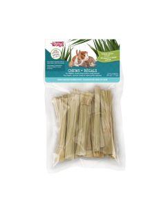 Living World Chews Napier Grass Sticks [20 pieces]