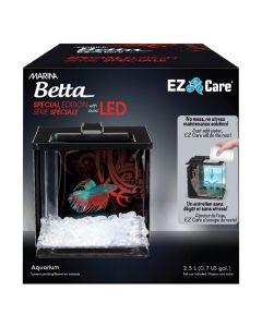 Marina EZ Care LED Betta Kit Black (0.7 Gallon)