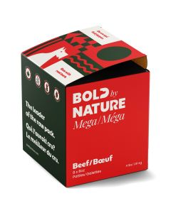 Bold by Nature Mega Beef Patties [4lb]
