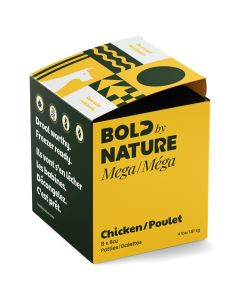 Bold by Nature Mega Chicken Patties [4lb]