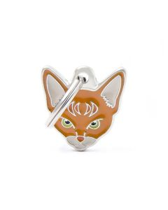 My Family FRIENDS Abyssinian Cat ID Tag