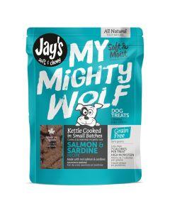 Jay's My Mighty Wolf Sardine & Salmon Dog Treats