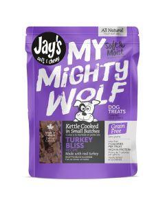 Jay's My Mighty Wolf Turkey Bliss Dog Treats