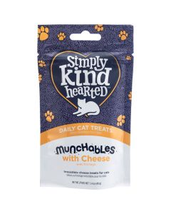 Simply Kind Hearted Munchables with Cheese Cat Treats [40g]