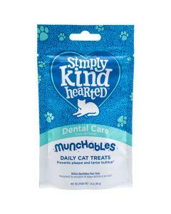 Simply Kind Hearted Munchables Dental Care Cat Treats [40g]
