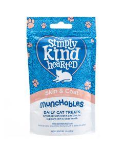 Simply Kind Hearted Munchables Skin & Coat Cat Treats [40g]