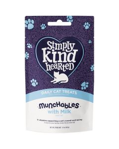 Simply Kind Hearted Munchables with Milk Cat Treats [40g]