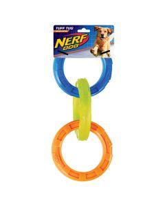 Nerf Dog Tuff Tug 3-Ring Medium