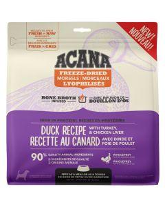 Acana Freeze-Dried Morsels Duck Dog Food [227g]