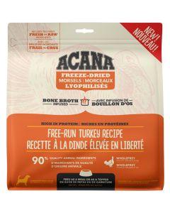 Acana Freeze-Dried Morsels Free-Run Turkey Dog Food [227g]
