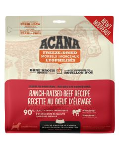 Acana Freeze-Dried Morsels Ranch-Raised Beef Dog Food [227g]