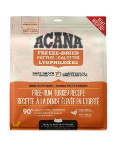 Acana Freeze-Dried Patties Free-Run Turkey Dog Food [397g]