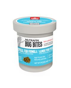 Nutrafin Bug Bites Tropical Small/Medium (45g)