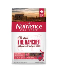 Nutrience Grain Free Air Dried The Rancher Beef Cat Food [400g]