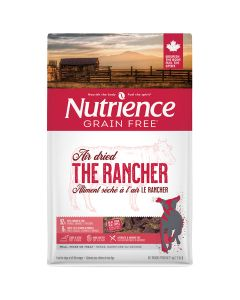 Nutrience Grain Free Air Dried The Rancher Beef Dog Food