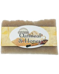 Chubbs Bars Oatmeal & Honey Shampoo Bar