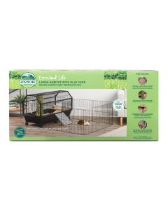 Oxbow Enriched Life Large Habitat with Play Yard