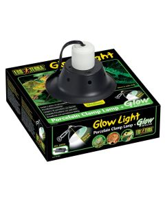 Exo Terra Glow Light Porcelain Clamp Lamp + Glow Reflector